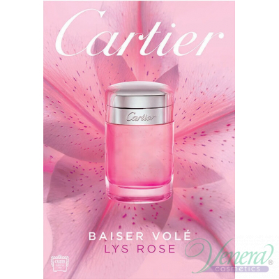 Cartier Baiser Vole Lys Rose EDT 100ml for Women Without Package Products without package