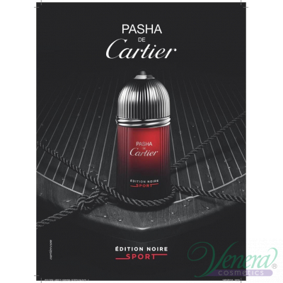 Cartier Pasha de Cartier Edition Noire Sport EDT 100ml pentru Bărbați fără de ambalaj Products without package