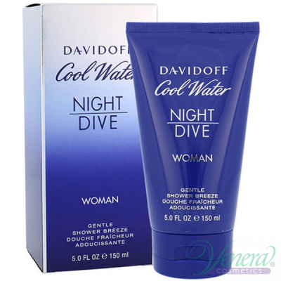 Davidoff Cool Water Night Dive Shower Gel 150ml...