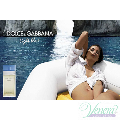 Dolce&Gabbana Light Blue Set (EDT 100ml + Body Cream 75ml + EDT 10ml) pentru Femei Seturi