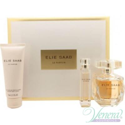 Elie Saab Le Parfum Set (EDP 90ml + EDP 10ml + Body Lotion 75ml) pentru Femei Sets