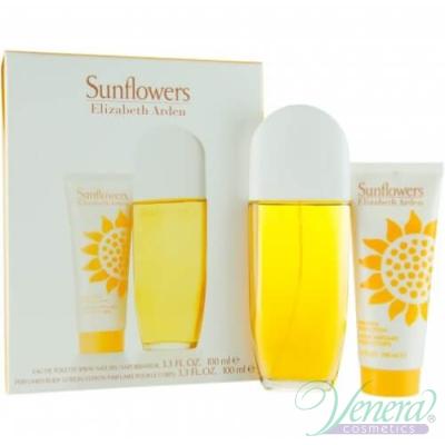 Elizabeth Arden Sunflowers Set (EDT 100ml + BL 100ml) pentru Femei Seturi