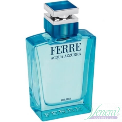 Ferre Acqua Azzurra EDT 100ml for Men Without Package  Products without package