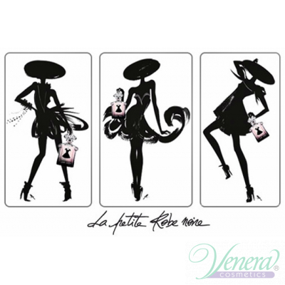Guerlain La Petite Robe Noire Set (EDP 50ml + Mascara intensive Volume 8.5ml + Bag) pentru Femei Seturi