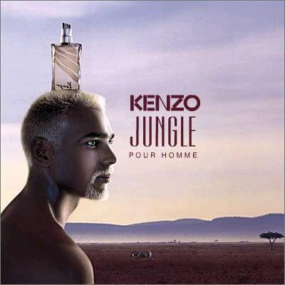 Kenzo Jungle Homme EDT 100ml for Men Men's Fragrance