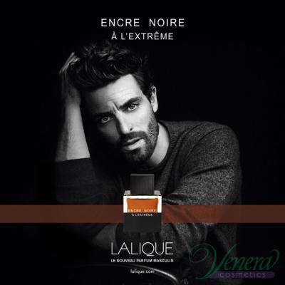 Lalique Encre Noire A L'Extreme Set (EDP 50ml + Cufflinks) pentru Bărbați Seturi