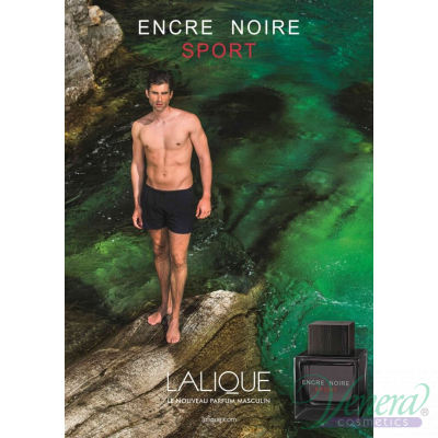 Lalique Encre Noire Sport EDT 100ml for Men Without Package Products without package