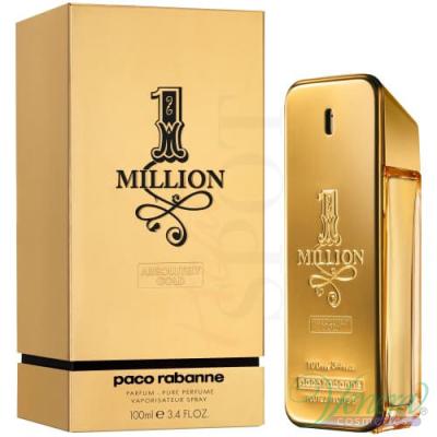 Paco Rabanne 1 Million Absolutely Gold Perfume 100ml pentru Bărbați