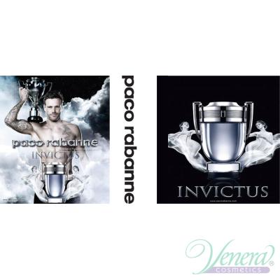 Paco Rabanne Invictus Set (EDT 50ml + Shower Gel 100ml) pentru Bărbați Seturi