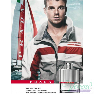 Prada Luna Rossa EDT 100ml for Men Without Package Products without package