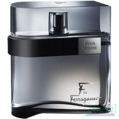 Salvatore Ferragamo F by Ferragamo Black EDT 100ml for Men Without Package  Products without package
