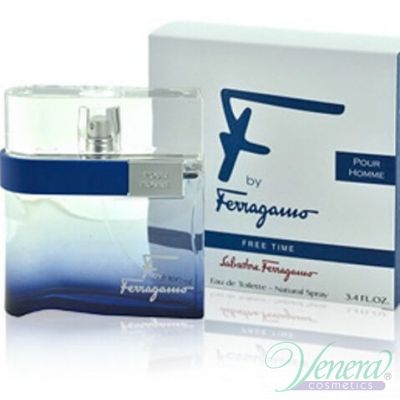 Salvatore Ferragamo F by Ferragamo Free Time EDT 50ml for Men Men's Fragrance