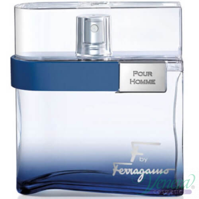 Salvatore Ferragamo F by Ferragamo Free Time EDT 100ml for Men Without Package  Products without package