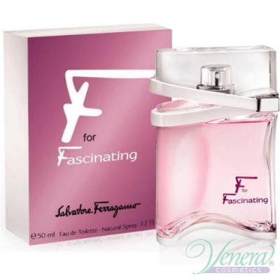 Salvatore Ferragamo F for Fascinating EDT 50ml for Women Women's Fragrance