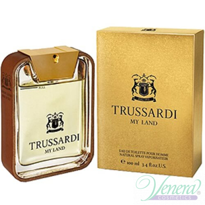 Trussardi My Land EDT 50ml pentru Bărbați Men's Fragrance