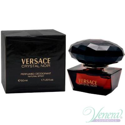 Versace Crystal Noir Perfumed Deodorant 50ml pentru Femei Face Body and Products
