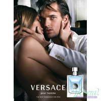 Versace Pour Homme Комплект (EDT 100ml + EDT 10ml + SG 150ml) за Мъже Мъжки Комплекти